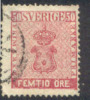 # Sweden    12, Used, SCV $90,    (sw012-5, Michel 12 - Used Stamps