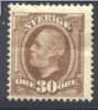 # Sweden    62, Mint, Og,  SCV $150,    (sw062-1, Michel 47 - Neufs