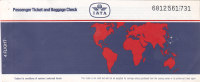 "AIR INDIA  /  Biglietto Aereo "" IATA ""  -  01.12.1991 - Europa"