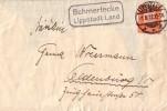 DR Brief EF Minr.466 Lippstadt 1.8.32 Landpostst. Schmerlecke Lippstadt Land - Briefe U. Dokumente