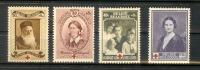 BELGIQUE Belgium 1939 -4 Timbres  MNH** - Belgien
