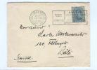 836/17 -  BELGIQUE JEUX OLYMPIQUES Anvers 1920 -  Lettre TP Albert 25 C Cachet Mécanique Des Jeux - Summer 1920: Antwerp