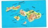 MAUI, The Valley Island - Cartes Géographiques