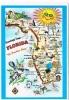 FLORIDA, The Sunshine State - Cartes Géographiques