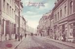 JEMEPPE S/M = Rue Grand-Vinâve - Carte Couleur Animée + Commerces (Marcovici) 1913 - Belgique