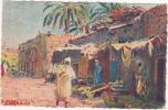 PAYSAGES AFRICAINS - Dans Un Village Saharien - 1931 - Algeria
