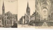R / 32 / 3  -    6 CP Diverses De Caen  (14 ) - Cartes Postales
