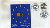 Enveloppe Timbrée Du  Groupement Philatelique Savoisien  Cluses 74 Du 24-25-09-1988 Jumelage Avec Trossingen - Marcophilie (Lettres)