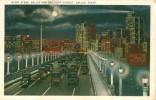CPA - Dallas - Night Scene Dallas And Oak Cliff Viaduct - Dallas