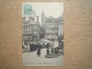 Carte Postale Avranches Oblitération Convoyeur Dol à Rennes Sur Blanc - 1877-1920: Semi-Moderne