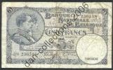 LOT N° A264 *BELGIQUE*BILLET DE CINQ FRANCS*  28/04/1938 TYPE *1919*ERREUR DATE 1988*SERIE NATIONAL *LOT N° 8009* - 5 Francs