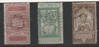 ITALIA REGNO 1921 DANTE ALIGHIERI 3 V. N° 116/118 (r. 5214) - Usati