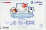 Carte Prépayée  Japon * HELLO KITTY * CAT * CHAT * Katze (521) PHONECARD Japan * TELEFONKARTE * - Stripverhalen