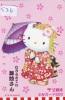 Carte Prépayée  Japon * HELLO KITTY * CAT * CHAT * Katze (526) PHONECARD Japan * TELEFONKARTE * JR CARD - BD