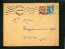=*= Mercure 549 (multiples Variétés Ou Faux) + Iris 652 Période émission S/lettre Au Tarif Antibes>>>Caille 3 Mai 45 =*= - France