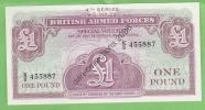 LOT A 267  *BILLET DE 1 POUND*4 EME SERIE*BRITISH ARMED FORCES SPECIAL VOUCHER*NEUF/FDC/UNC/ - British Armed Forces & Special Vouchers