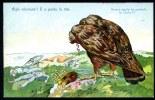 CPA. MILITAIRE HUMORISTIQUE. TEXTE : Aigle Infortuné !! Il A Perdu La Tête. - Humoristiques