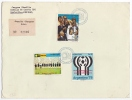 [WIN473] Soccer Football West Germany WM 1974 WC - Paraguay Mch#2609/11 Complete FDC COVER - 1974 – West Germany