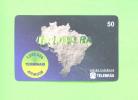 BRASIL - Inductive Phonecard As Scan - Brésil