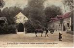 94 VILLENEUVE LE ROI Château De Mr Leblanc Barbedienne L'Ancienne Abbaye Cpa Couleur Animée - Villeneuve Le Roi