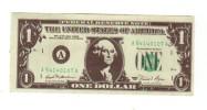 Billet Bloc-note, Petit Format, Dollar, Fictif Spécimen - Etats-Unis
