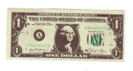 Billet Bloc-note, Petit Format, Dollar, Fictif Spécimen - Non Classificati