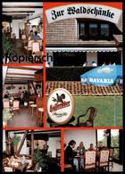 POSTKARTE DRÜBECK Bieretikett Hasseröder Bier Beer Label Zur Waldschänke Ilsenburg Harz Autogramm Autograph Cpa Postcard - Ilsenburg