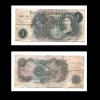 ONE POUND N28J  124317 - 1952-… : Elizabeth II