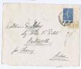 France : Lettre A Aisne Avec Yv 205 Coin Date 23-9-27