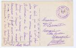 Switserland: Comp. Mitr. Fort 11, Poste Campagne, A Geneve. A Verso: Bex Et Les Diablerets - Military Post