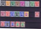 Malaya , Selangor, 1949 Michel 53-73, Minus The 30 C Nr 67, Mint Hinged, Very Nice Set - Selangor