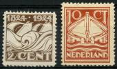 Pays Bas (1924) N 157 à 158 Charniere