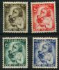 Pays Bas (1934) N 268 à 271 Charniere