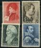 Pays Bas (1935) N 272 à 275 Charniere