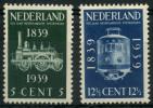 Pays Bas (1939) N 325 à 326 Luxe - 1891-1948 (Wilhelmine)