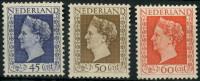 Pays Bas (1948) N 488 à 490 Charniere