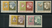 Pays Bas (1953) N 613 à 617 Luxe - 1980-... (Beatrix)