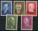 Pays Bas (1954) N 618 à 622 Charniere