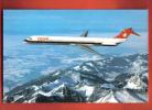 B146 Avion MCDonnel-Douglas MD-81 Swissair.Non Circulé. Engadin Press - Avions
