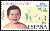 ESPAÑA 1975 - DEFENSA DE LA VIDA - Edifil Nº 2282 - Yvert 1927 - 1931-Aujourd'hui: II. République - ....Juan Carlos I