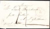 Lettre Càd THOUROUT 1848 + Boîte Y De DIXMUDE - 1830-1849 (Belgique Indépendante)