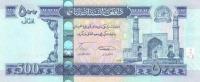 AFGHANISTAN P. 76a 500 A 2008 UNC - Afghanistán