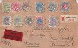 Pays Bas - Lettre Recommandée Exprès De 1910 - 1891-1948 (Wilhelmine)