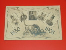 75 Anniversaire De L´Indépendance Belge  1830 - 1905   -  (2 Scans ) - Koninklijke Families