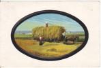 CPA - (Attelage) Allemagne? A Identifier Attelage, Transport Du Foin - Cartes Postales