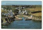 - 15 - Ile De GROIX - (  Morbihan  )  Port Lay - écrite, 1973, Cliché Aérien Heurtier, Grand Format,  Bon état, - Groix