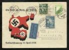 AUSTRIA, HITLERS ANNEXION TO GERMANY, APRIL 1938  Braunau - Covers & Documents