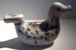 AGUEDA - Canard Dessin Coq - Duck Design Rooster - Sierobject Eend Met Haan  - Hahn  - DI096 - Agueda (PRT)