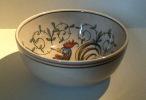 AGUEDA - Bol Dessin Coq - Bowl Design Rooster - Kom Met Haan  - Hahn  - SE279 - Agueda (PRT)