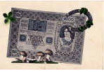 AK UNGARN Papiergeld  EZER  KORONA   OLD POSTCARD - Banques